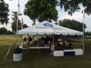 QPS tent at the HIOT tournament